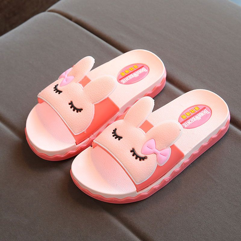 Cartoon Cute Cat Paws Summer Slide Slippers For Men Women Kid Indoor Open-Toe Sandal Shoes
