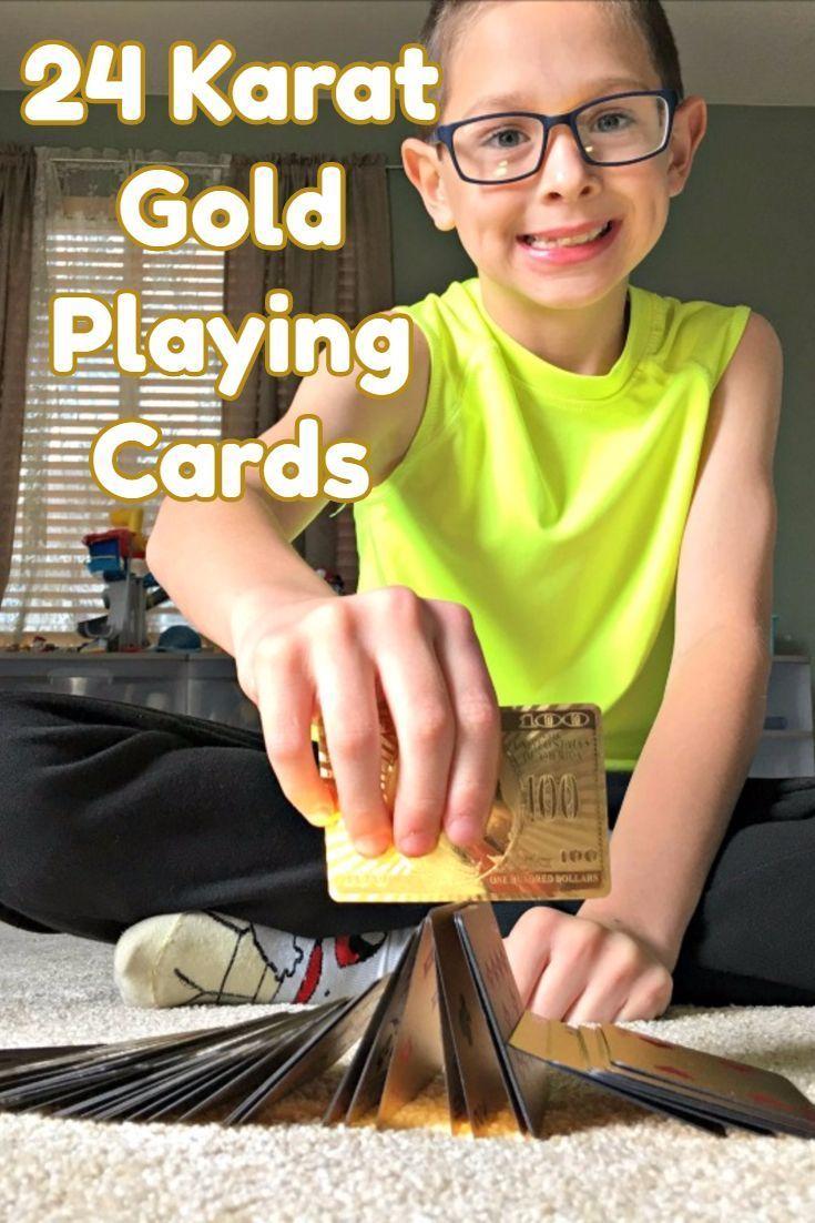 24 karat gold playing cards certified 999 real gold