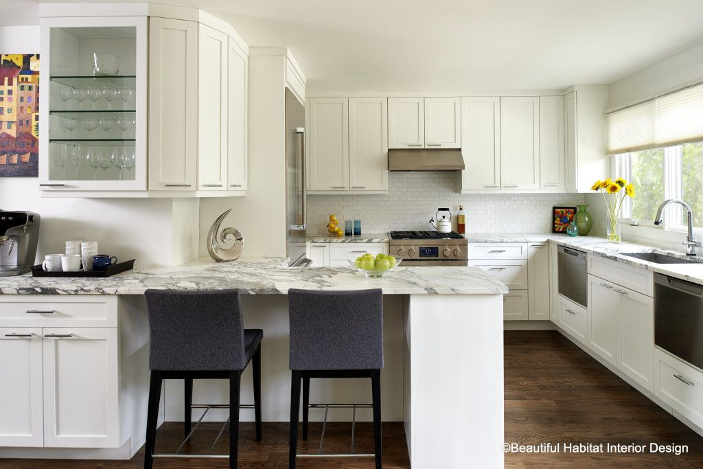 Kitchen Design Boulder Awardwinning Modern White Kitchen Design  Beautiful Habitat