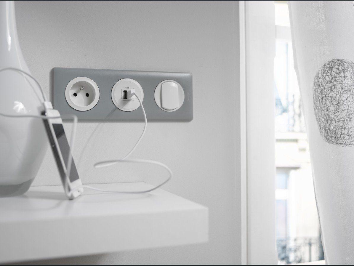Interrupteurs Et Prises Tendance Deco Leroy Merlin Interrupteurs Plan Electrique Plan Electrique Maison