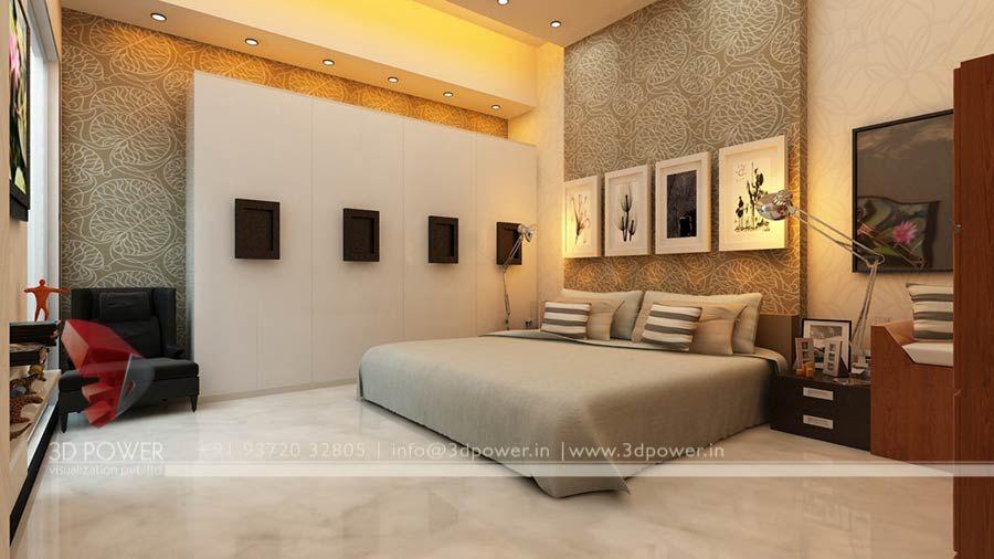 High Class Bed Room 3d Interior Rendering View White Bedroom Design Apartment Design Bedroom Interior