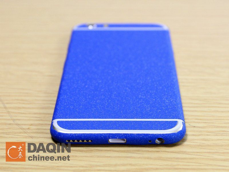 This is the blue color shining sticker for iphone 6 blue version iphone 6 isnt it i love it