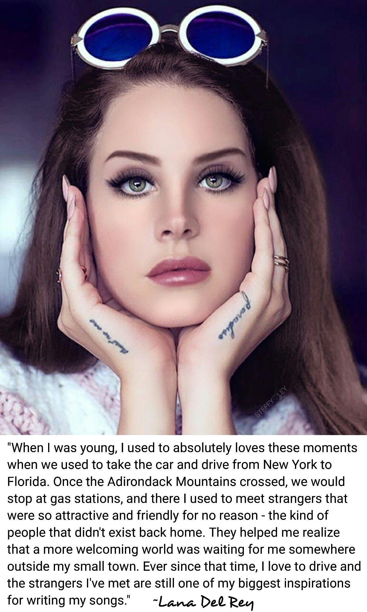 Lana Del Rey Ldr Quotes Tattoo Female Lana Del Rey