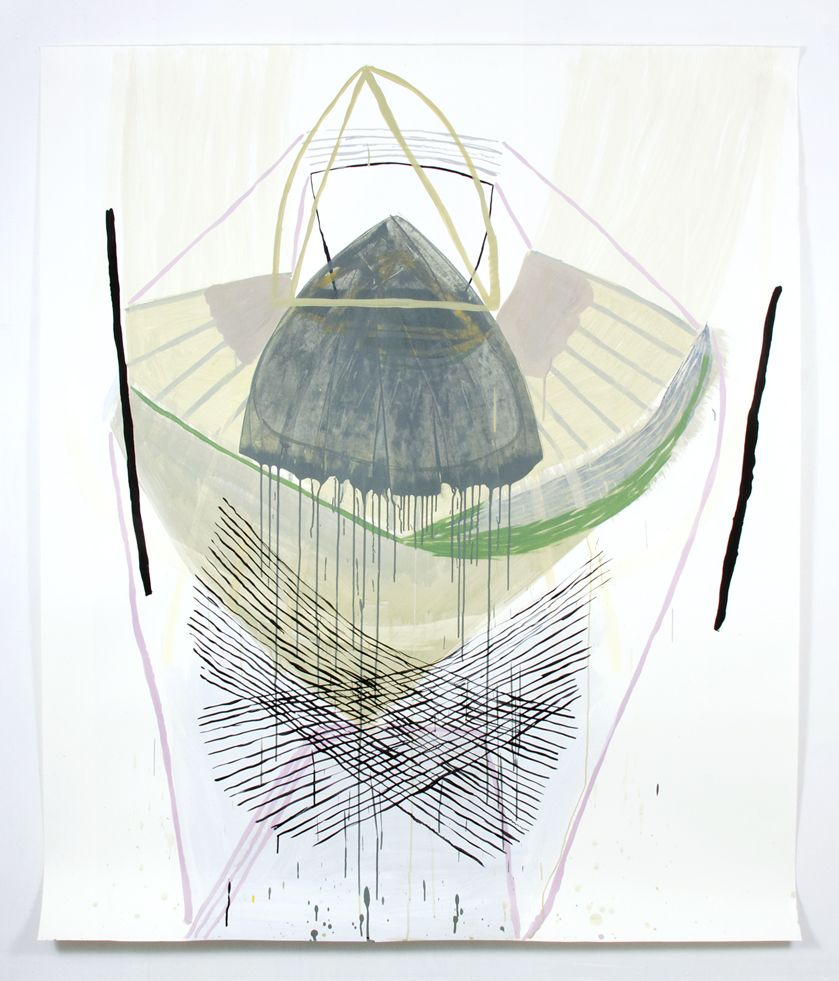 EXHIBITION: Ky Anderson opens Paper Giants with Meg Lipke & Vicki Sher on September 20th, 2014 @ Proto Gallery in Hoboken, NJ. (Sept. 20-Oct 19, 2014)  The show runs from Sept 20th to Oct 19th