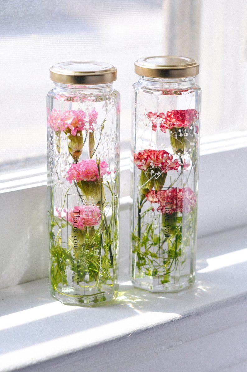 Eternal Love Flower Gift For Mom For Wife Red Carnation Flower Gift Love Flowers Gifts For Mom