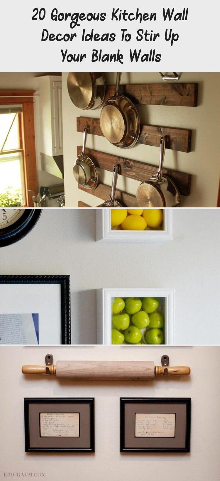 20 Gorgeous Kitchen Wall Decor Ideas To Stir Up Your Blank Walls Decoration Kitchens