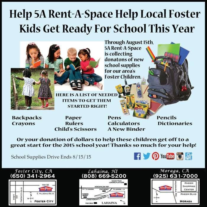 5a A E School Supplies Drive