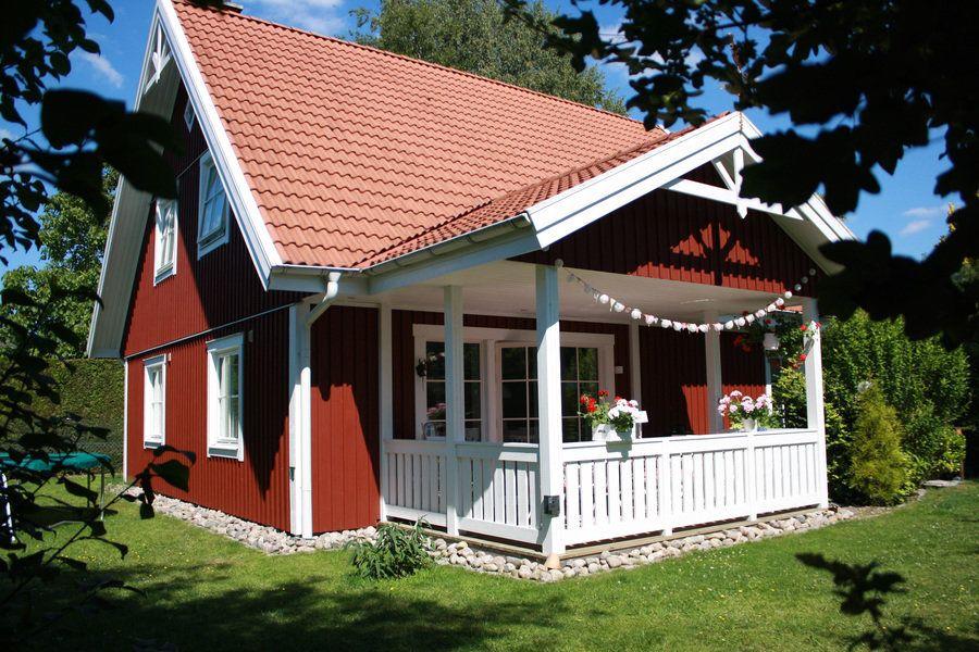 Zu hause f hle ich mich wie in den ferien in bullerb - Skandinavisches gartenhaus ...