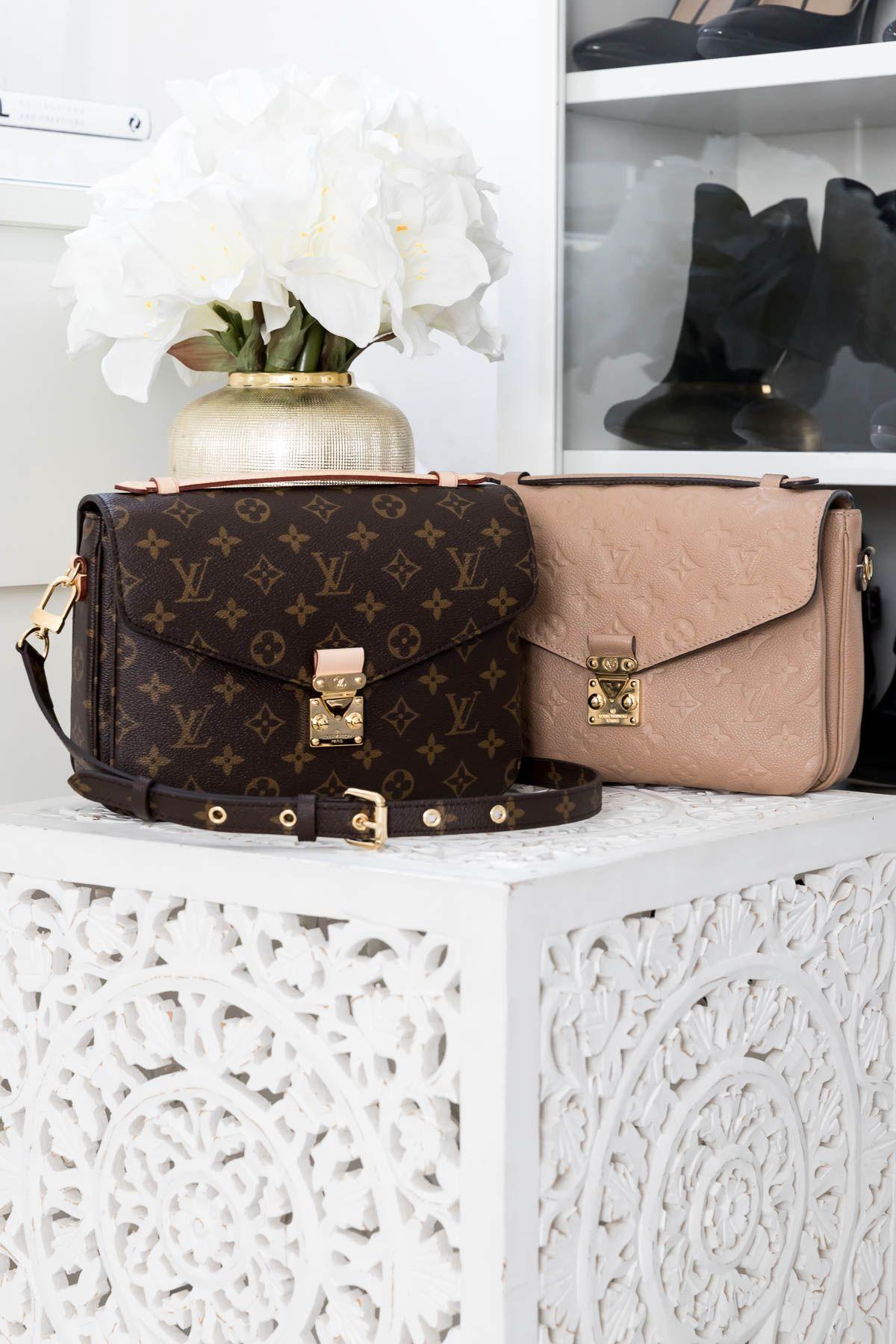 Louis Vuitton Pochette Metis Monogramm vs. Empreinte