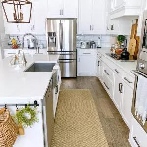 Diamond Sisal Rug In 2020 Small Kitchen Decor Diamond Sisal Rug Kitchen Design