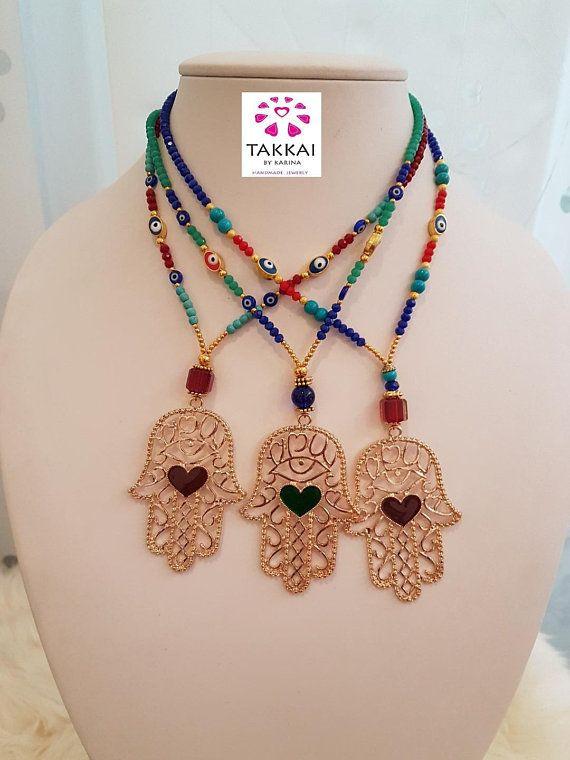 e951d7fd428f Hamsa Necklace
