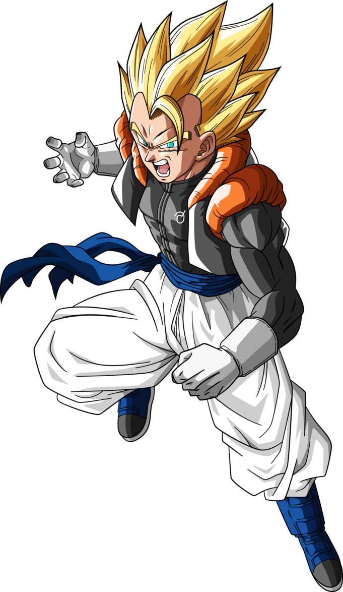 Super Gogeta Dragonball Super By Rayzorblade189 On
