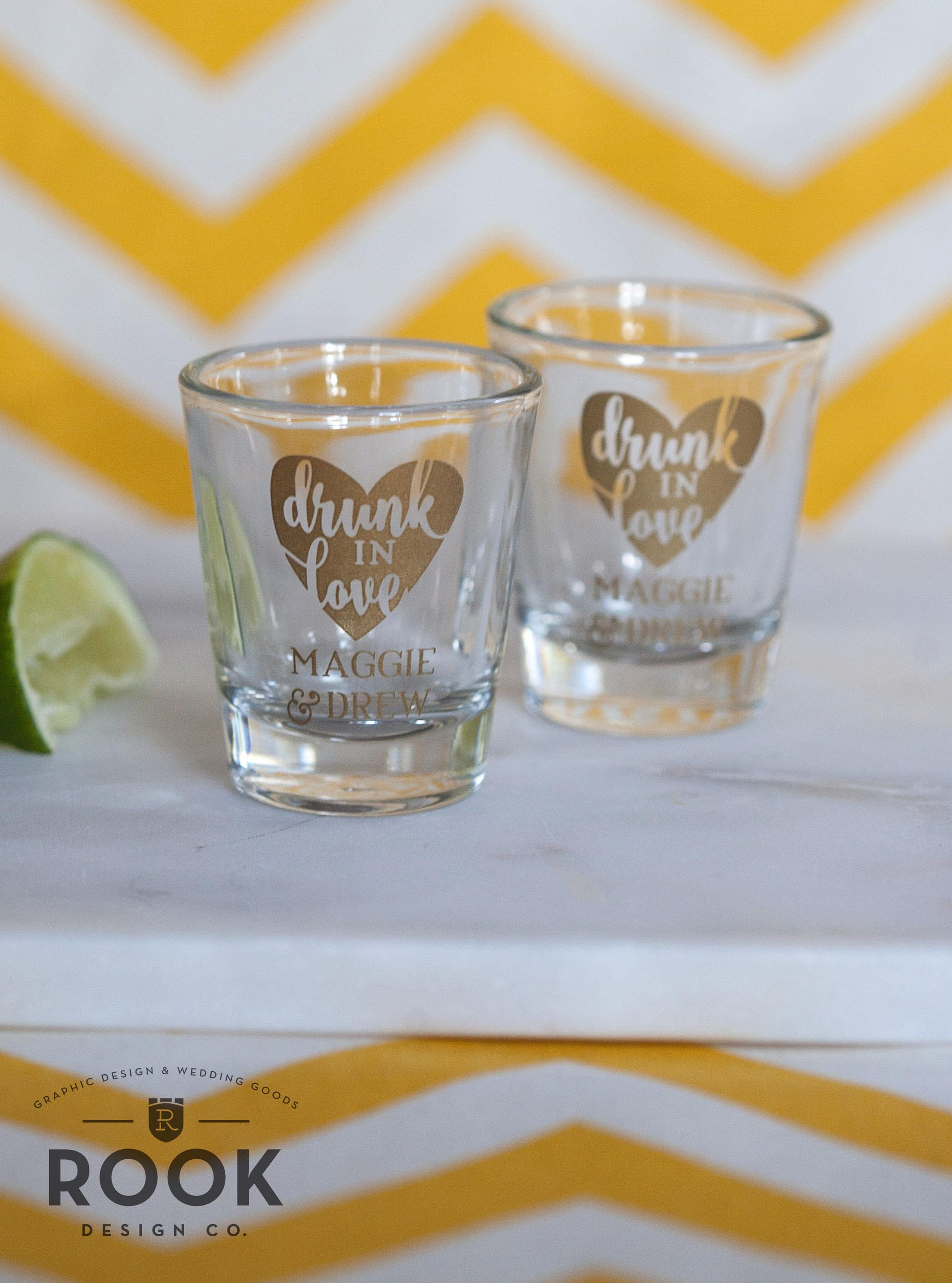 This listing is for made to order shot glasses give your party guests a favor