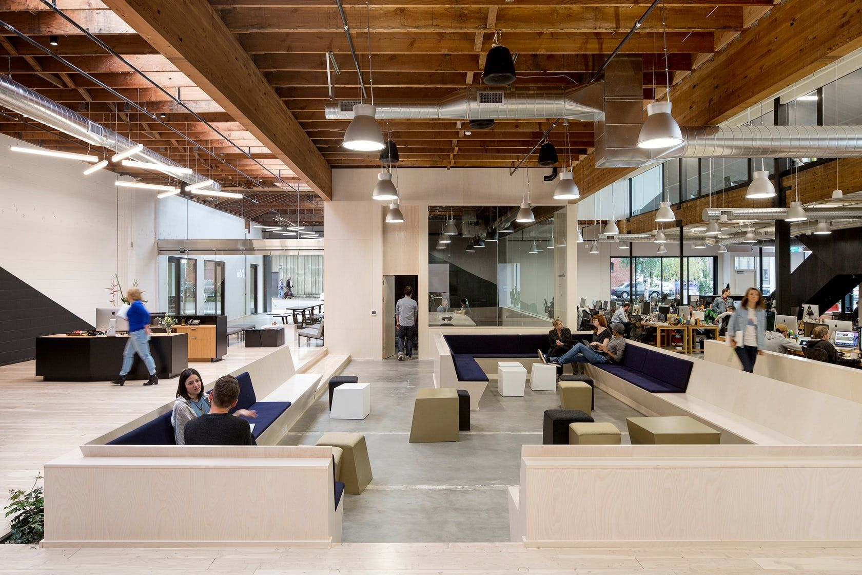 interesting office spaces. Swift Agency Merges The Interests Of Two Clients (developer And Corporate Tenant) To Create Interesting Office Spaces E