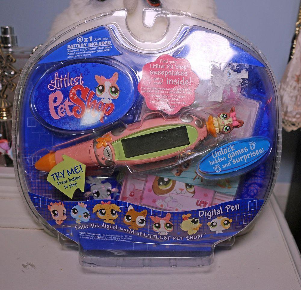 Details About Littlest Pet Shop Digital Pen Pet Pink Bunny New