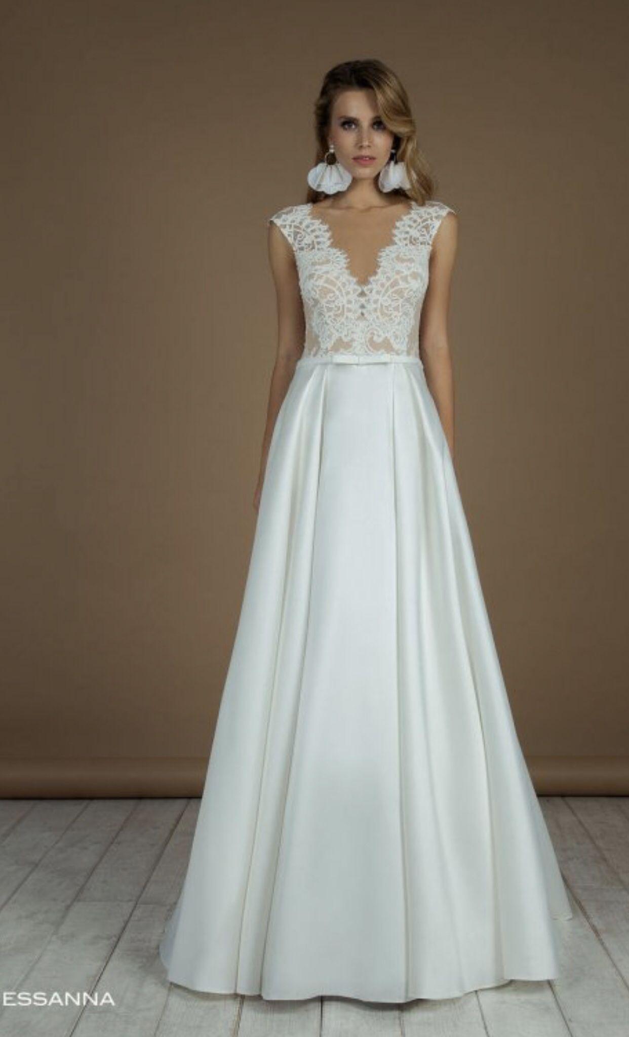 Le Rina -Brautkleid Essana -Hochzeitskleid  Brautmode, Brautkleid