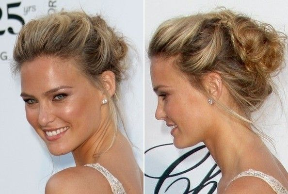 Do it yourself how to get hollywoods best hairstyles at home bar refaeli flynet bar refaelis loose romantic looking updo is one of the easiest styles to recreate also it works with a variety of hair lengths from solutioingenieria Images
