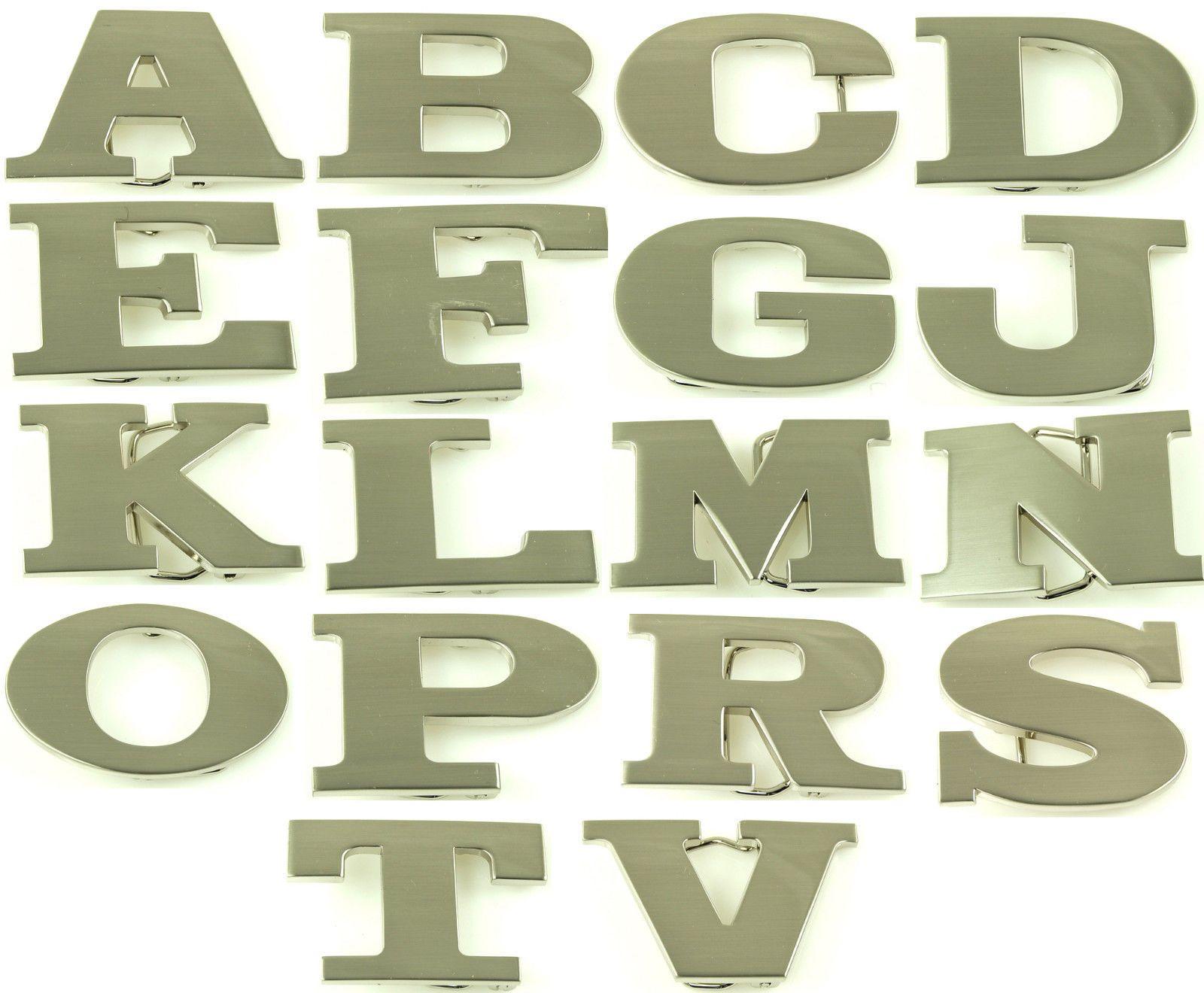 Alphabet Initial Metal Belt Buckles A B C D E F G J K L M N O P R S T V Ebay In 2021 Metal Belt Initials Belt Buckles