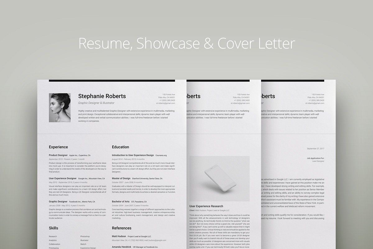 Professional Resume 1 H W Professional Resume Cover Letter Template Microsoft Word 2007