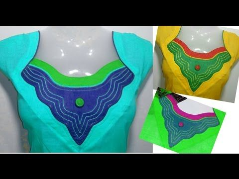 New Neck Designs - For KURTI & KAMEEZ - Easy Making - Cutting ...