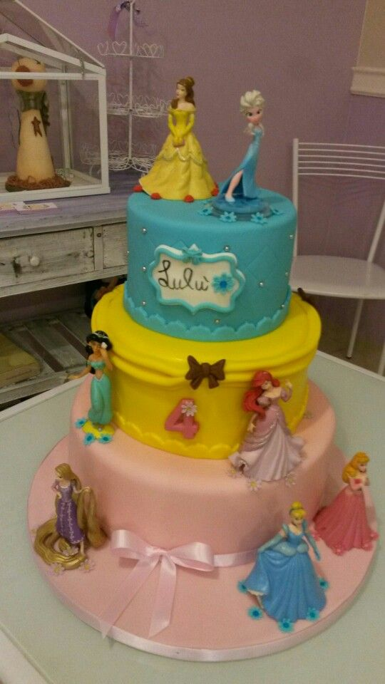 princess disney cake