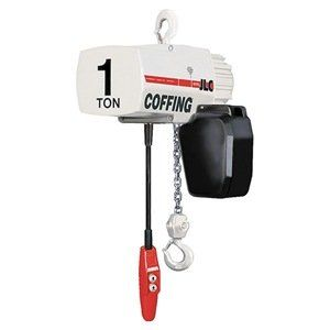 Elec Chain Hoist 1 2t 16fpm 115 230v By Coffing 3107 15 Electric Chain Hoist Single Speed Capacity 1 2 Ton Lift 20 Ft Lift Speed 16 Fpm Motor Hp 1 2 S Izobrazheniyami