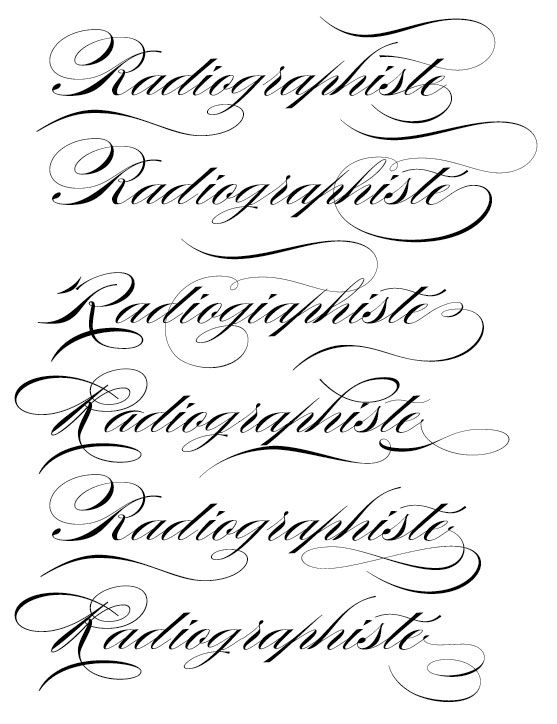 Lettercentric: Type as Writing