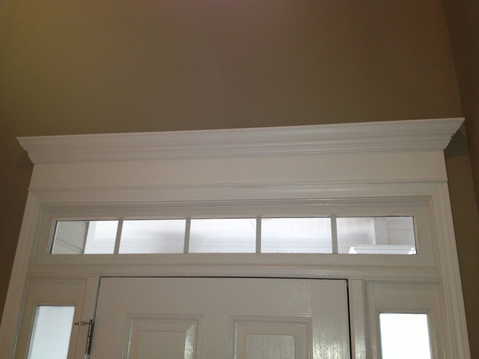 cheriesparetime Door Crown Moulding & cheriesparetime: Door Crown Moulding | Destin ceiling make over ...