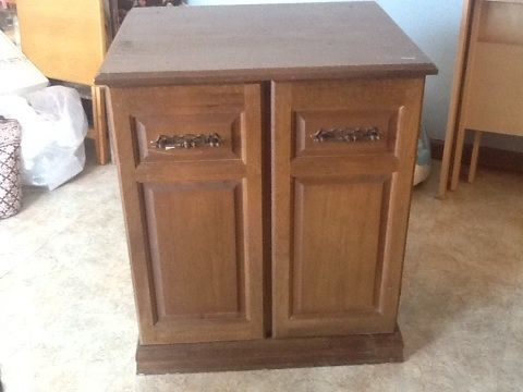 Parsons Sewing Machine Cabinet With
