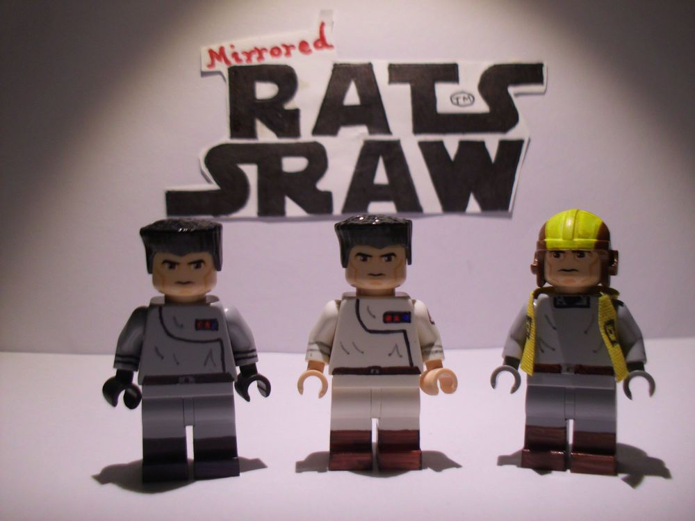Lego Star Wars minifigure Trooper - Clone Custom Ships Staff   Lego ...