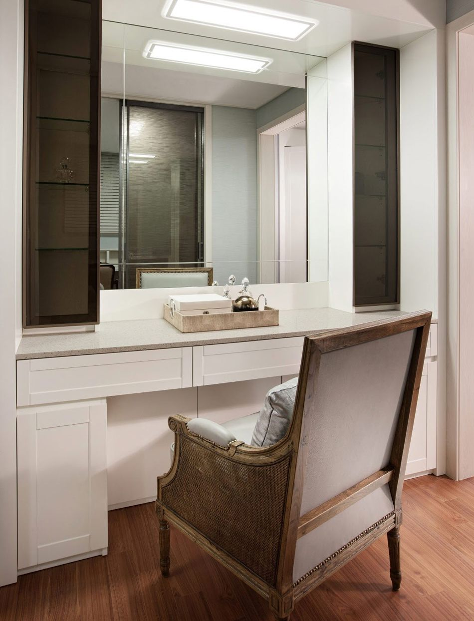 Hospitality, Dress Room Countertop, Raemian Apartment, Samsung Cu0026T, Seoul,  Korea [