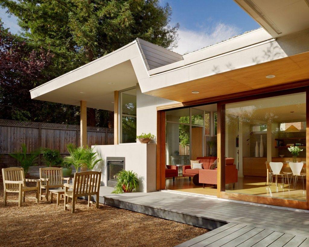 Contemporary deck house designs