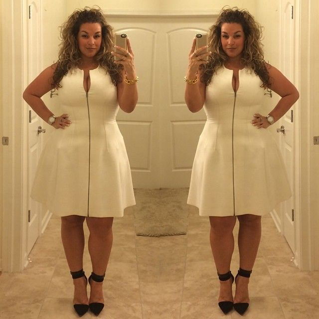 "The White dress is back for ""Curves at Sea"" #fffw #bcbg #lamb #OOTD #theoutfit #bicoastalmodels #bicoastalplusmodel #bicoastalfittingmodels #manikmodel #lauraleeplus #lifethrowscurves #honormycurves #celebratemysize #allthingsfiery_atf #allthingsfiery #goldenconfidence #thedopestcurves #curvynstyle #boldncurvy #flyfashiondoll #ffpfashionista #czodiac #curvy #getem"