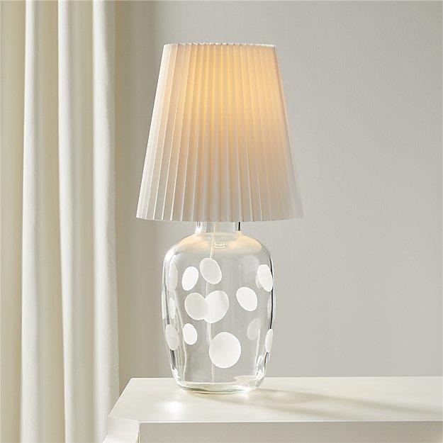Voir Dot Table Lamp Reviews Cb2 Table Lamp Glass Table Lamp Lamp