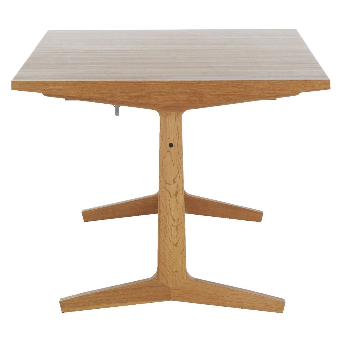 Habitat Parker 8 10 Seat Oak Extending Dining Table W100 X