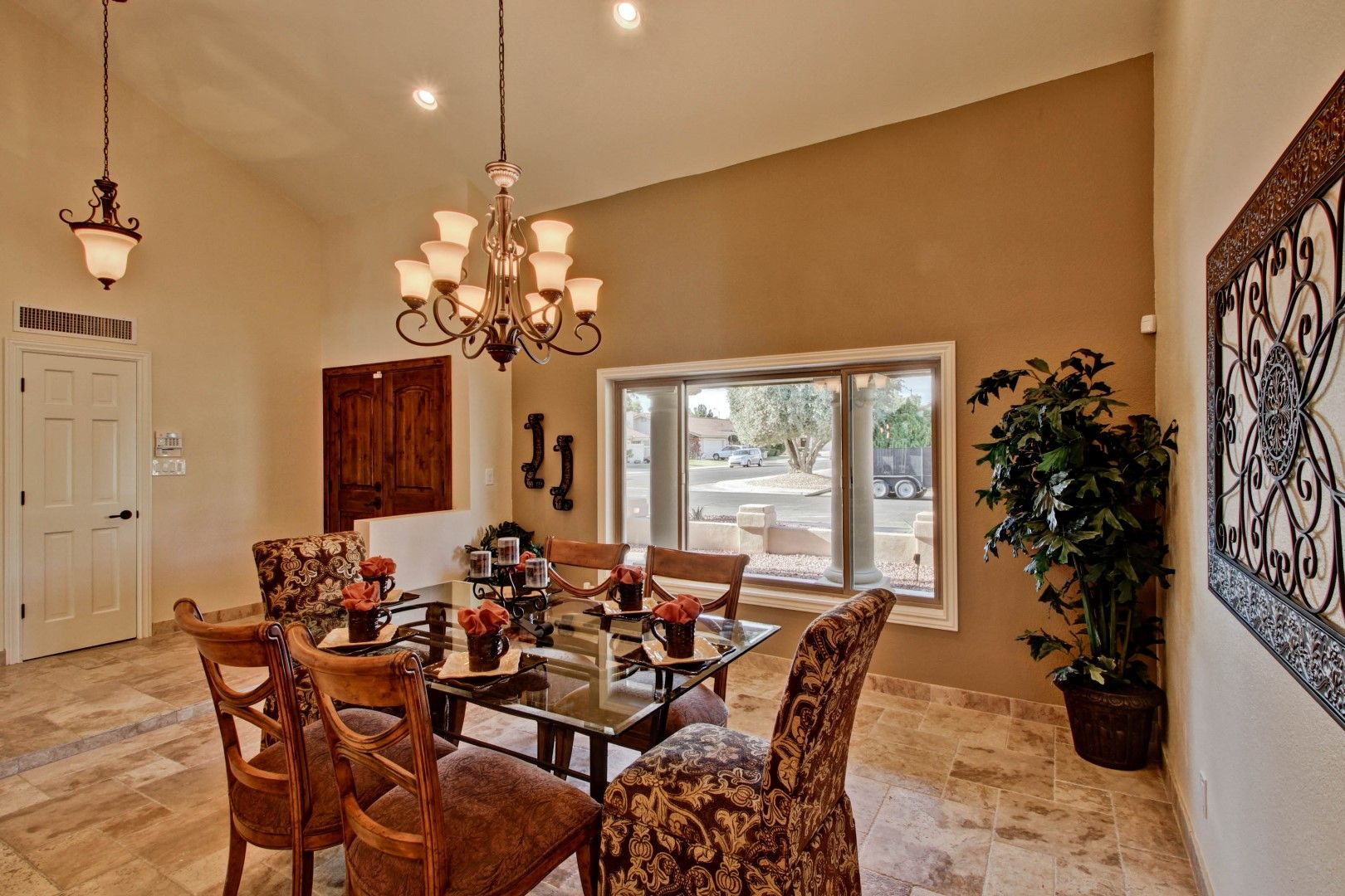 Formal Dining Room In Front Entry