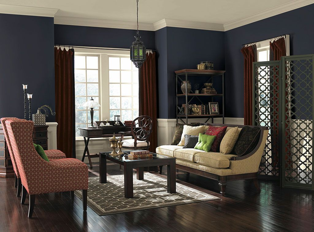 Lap Of Luxury Living Room Paint Room Color Combination Modern