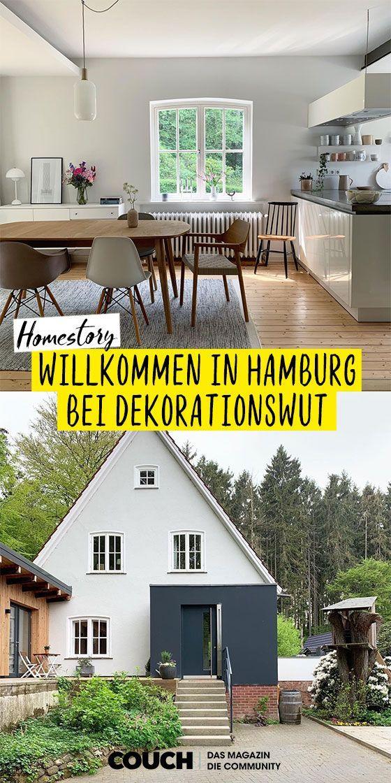 Willkommen im Haus von Dekorationswut in Hamburg! #homestory #einrichten #einrichtungsideen #deko #hausbau #renovieren #skandinavisch #wohnen