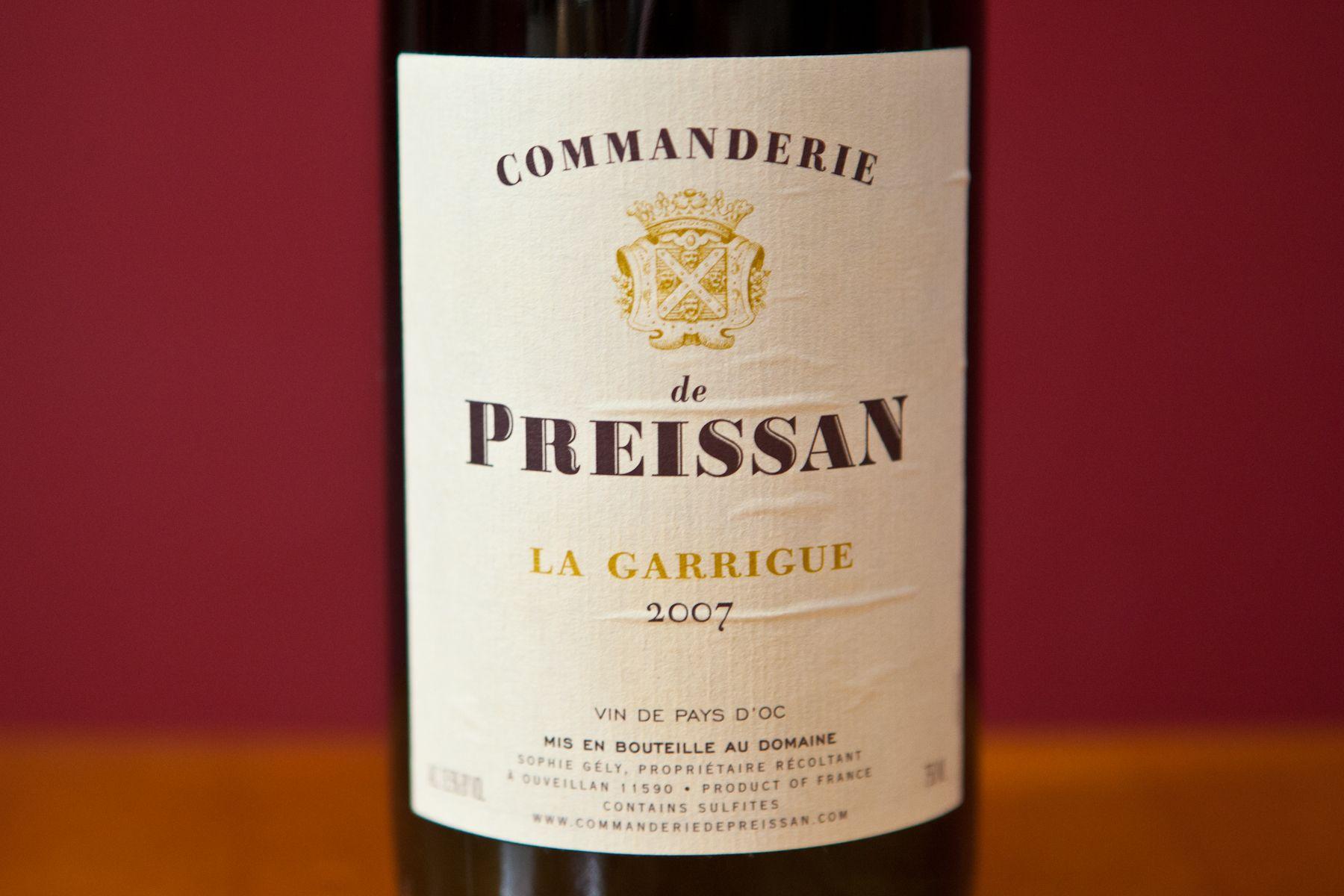 Commanderie De Preissan Organic Wine Wine Bottle Wines