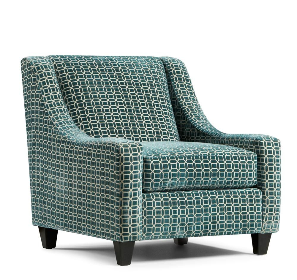 Home Decor Outlet Southaven Ms: Fusion Furniture Chair Program Regatta Teal Accent Chair