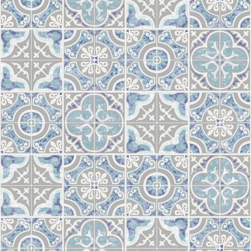 Sk Filson Blue Mozaic Tiles Wallpaper In 2021 Tile Wallpaper Blue Wallpapers Wallpaper Roll Alexis spanish tile wallpaper