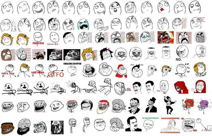 Google Image Result For Http Www Deviantart Com Download 291507351 All Meme Faces Hd By Themark1o D4tk0if Jpg Rage Comics All Meme Faces Meme Faces