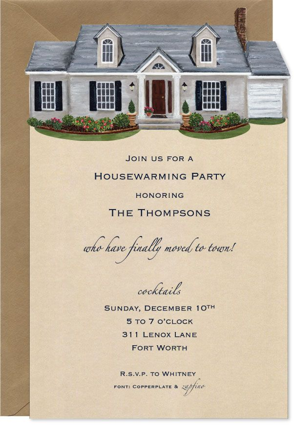 Cute House Warming Invitation Party Ideas In 2019 Open