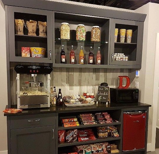 Home Theater Room Concessions