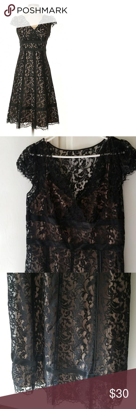 1bcc9ce031 Ann Taylor Loft Black Lace Dress - Plus Size! This is a beautiful Ann Taylor