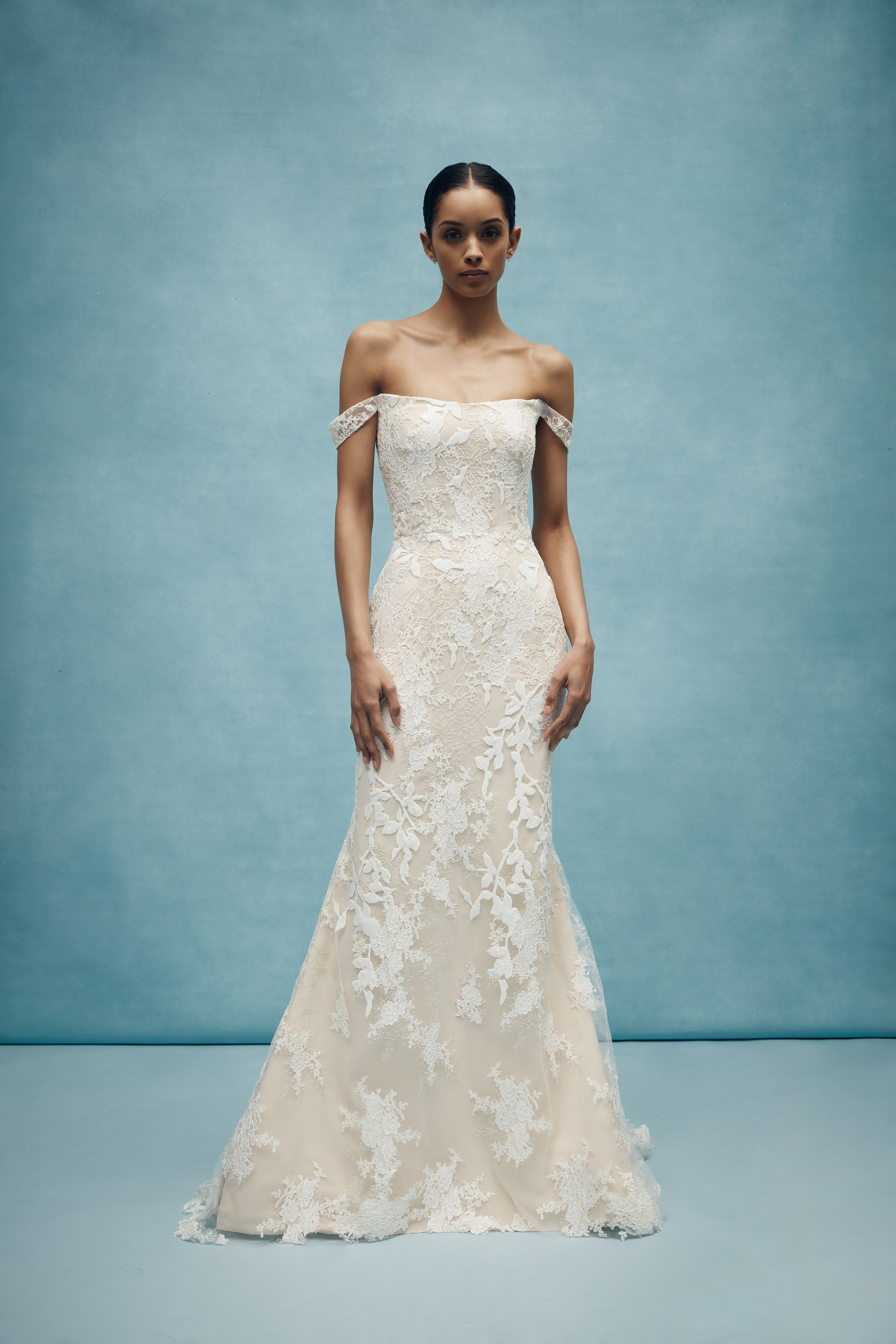 96931a090ce27 Anne Barge Bridal Spring 2020 Fashion Show in 2019 Fave
