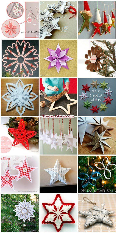 Mas De 300 Manualidades Y Adornos Para Navidad 2020 Trucos Y Astucias Adornos De Navidad Decoracion Navidena Manualidades