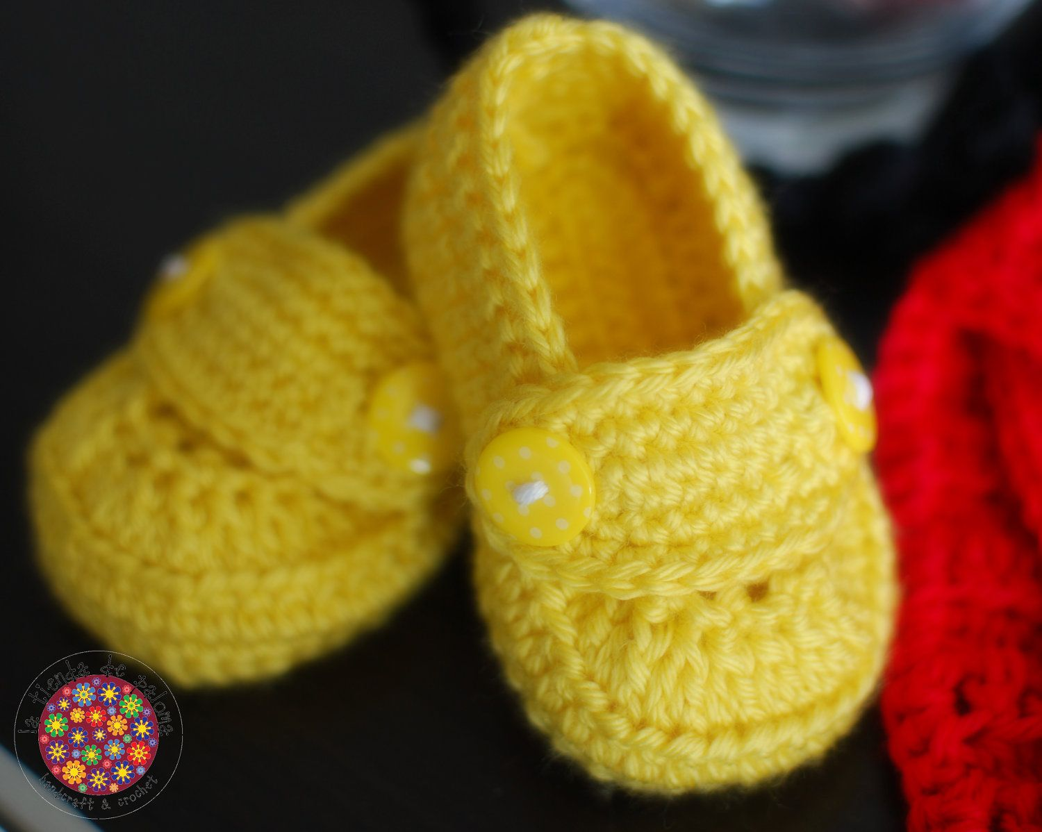 Crochet baby set mickey mouse hat, shoes and diaper cover - Made to ...