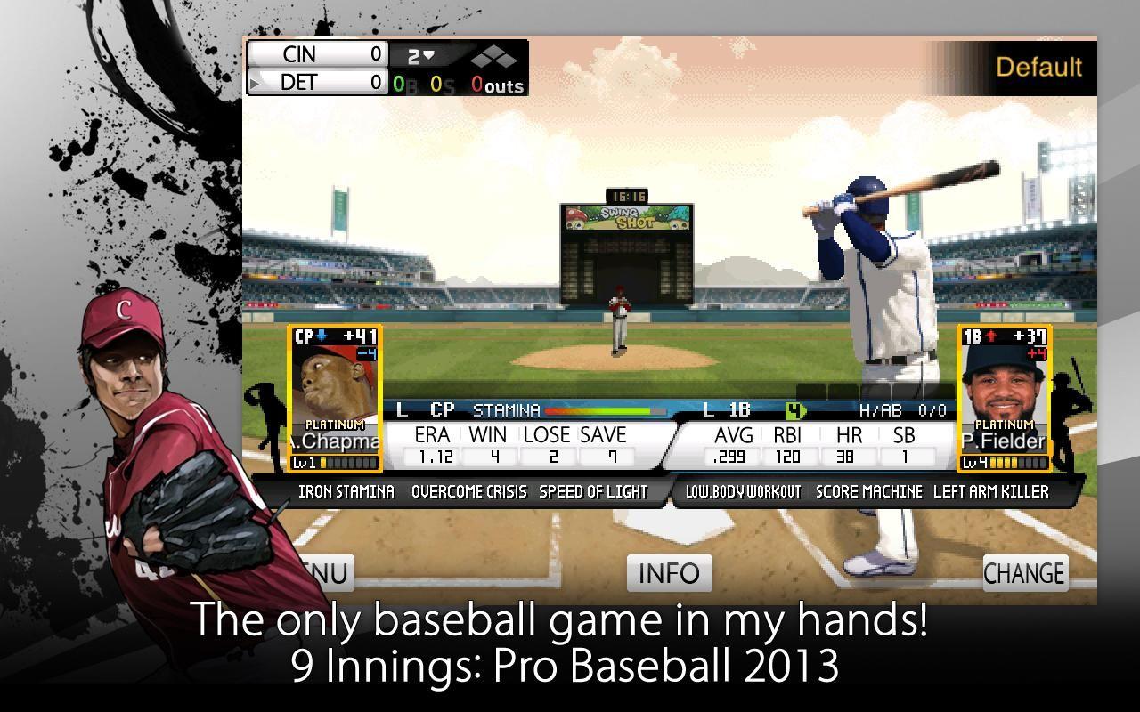9 Innings Pro Baseball 2013 Pro Baseball Baseball Great Apps