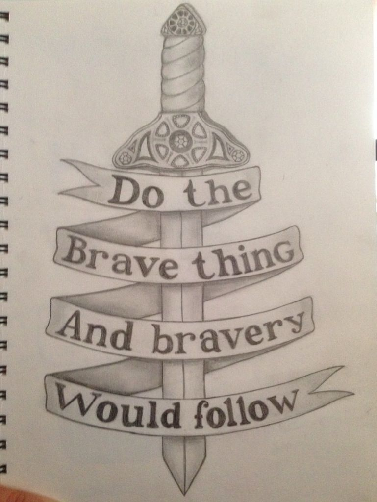 Belle do the brave thing and bravery would follow, once upon a time, oust